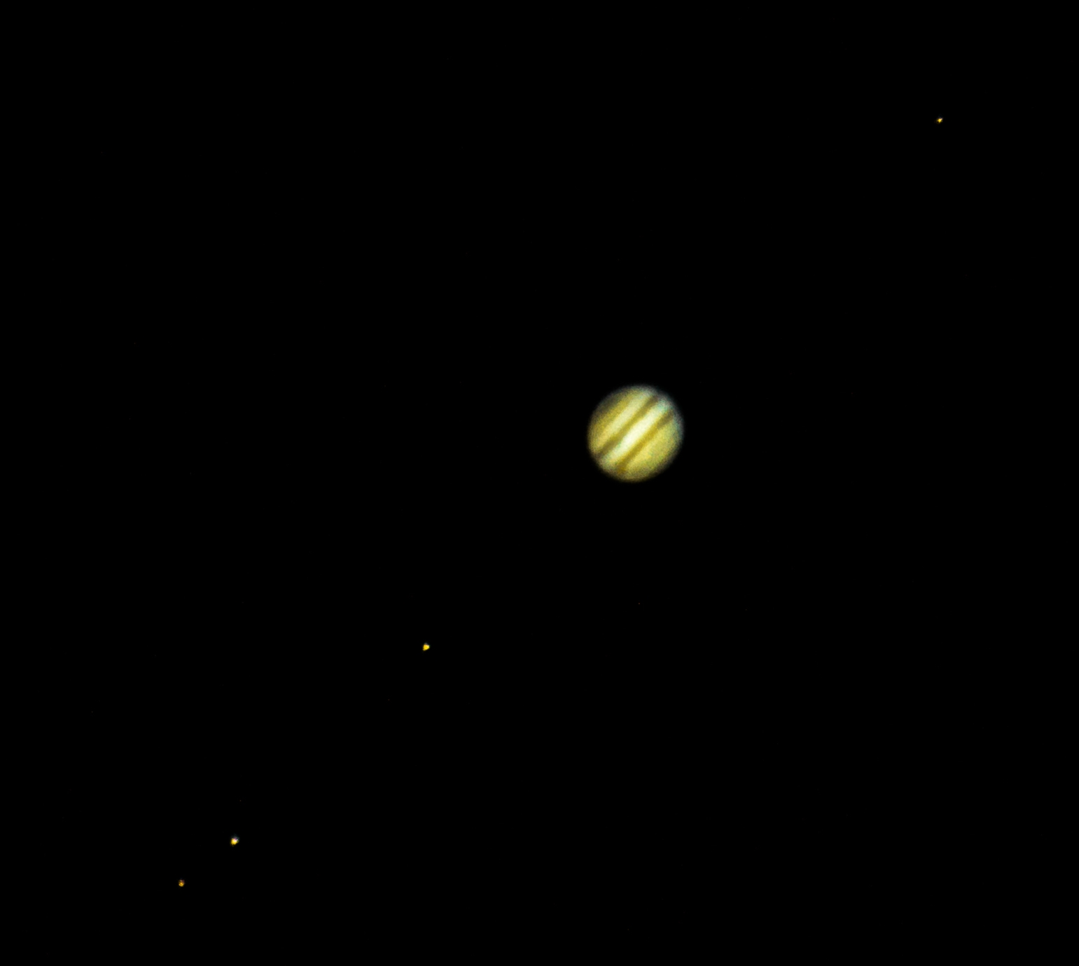 Jupitar with moon