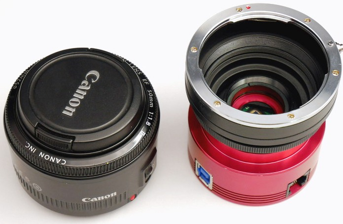 New version of EOS-T2 adapter ring